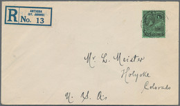Karibik: 1880's-1950's: 60 Covers, Postcards And Postal Stationery Items, With Two From Danish West - America (Other)