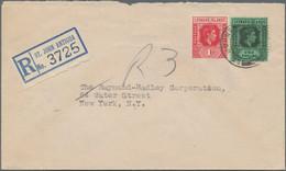 Karibik: From 1895, Anguilla, Antigua-Barbuda, Bahamas, Barbados, Caymans, Dominica, Dom. Rep., Gren - America (Other)