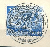 MiNr. 742 Briefstück   (b05) - Gebraucht
