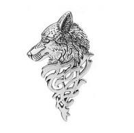 1 Pin's NEUF En Métal ( Pins ) - Loup Wolf 5,5 Cm ! ( Ref 2 ) - Animali