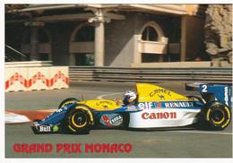 GRAND PRIX DE MONACO ,PROST SURWILLIAMS RENAULT ,BEAU PLAN A VOIR !!!  REF 71496 - Grand Prix / F1