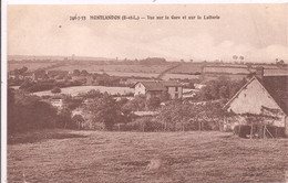 CPA - Montlandon - Vue Sur La Gare Et Sur La Laiterie - Andere Gemeenten