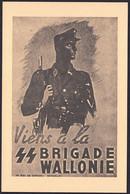 "+++ CPA - Politique - Propagande - "" Viens à La SS Brigade Wallonie "" - Waffen SS - Militaria  // - Parteien & Wahlen"