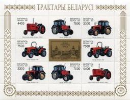 Weissrussland / Belarus / Biélorussie /BIAŁORUŚ 1997 MI.242-45**,MA.248-51,YVERT Tractors (M/S) MNH ** - Wit-Rusland