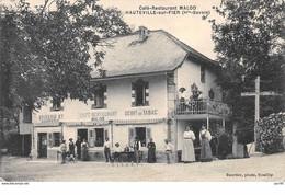 74.n°57385.hauteville Sur Fier.café Restaurant - Other Municipalities