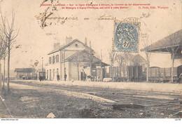 02.n°58750.wasigny.la Gare.en Etat - Other Municipalities