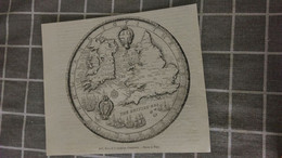 Affiche (dessin) - 1651... SCEAU DE LA REPUBLIQUE D ANGLETERRE - Manifesti