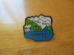 A048 -- Pin's Tour Du Mont Blanc Campex Lac - Ciudades