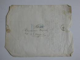 Lettre Et Cachet De Troyes (Aube) Du 8 Aout 1828 - Timbri Generalità