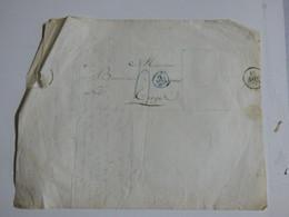 Lettre Et Cachet De Troyes (Aube) Du 13 Aout 1828 - Timbri Generalità