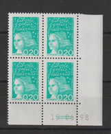 France 1997 Coin Daté Marianne Luquet 3087 ** MNH - 1990-1999