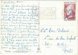 Vienne - Poitiers - Carte Postale - Le Baptistère Saint-Jean - Seul Sur Lettre - 0,30 + 0,10 Beaumarchais - 9 Mars 1987 - 1961-....