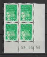 France 1997 Coin Daté Marianne Luquet 3091 ** MNH - 1990-1999