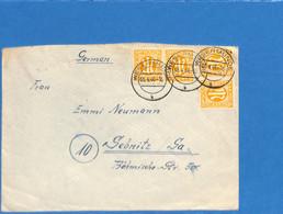 Allemagne Bizone 1946 Lettre De Wesermunde (G1996) - Zona Anglo-Americana