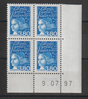 France 1997 Coin Daté Marianne Luquet 3093 ** MNH - 1990-1999