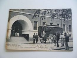 CPA / Carte Postale Ancienne / Nord (59) DOUAI - Prison Et Voiture Cellulaire - Douai