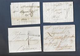 Lot De Lettres Avant 1949 Avec Marques Diverses - Unclassified