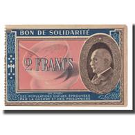 France, Bon De Solidarité, 2 Francs, SPL - Bons & Nécessité