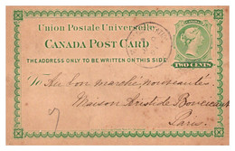 Canada - Entiers Postaux - Unclassified