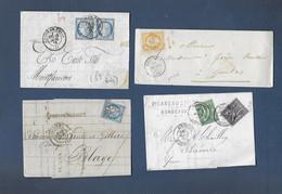Lot De Lettres  Avec Timbres  Divers Céres / Napoléon / Sage - Unclassified