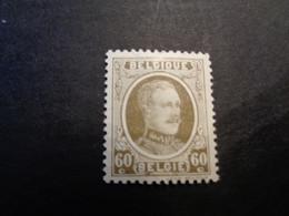 255c Xx MNH 60c Bleekolijf - Olive Pale Houyoux - 1922-1927 Houyoux