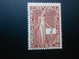 261 Xx MNH 60c+15c Roodbruin - Rouge Et Or - Ongebruikt