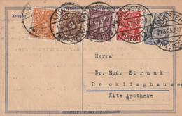 Postkarte Deutsches Reich Inflation Münster Vom 10.3.1923 - Zonder Classificatie