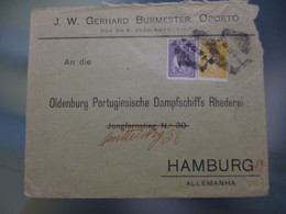 TIPO CERES - J.W. GERHARD BURMESTER - PORTO - Covers & Documents