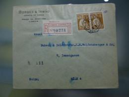 TIPO CERES - EMISSÂO LONDRES - BORGES & IRMÂO - Covers & Documents
