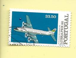 TIMBRES - STAMPS - PORTUGAL - 1982 - LUBRAPEX 82 -VOL DE L'AMITIÉ TAP / PANAIR (1960) - TIMBRE OBLITÉRÉ - Used Stamps