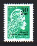France 2020 Definitive  Marianne OVPT 1v MNH - 2018-... Marianne L'Engagée
