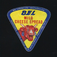 étiquette Fromage Fondu 1 Portion Triangle La Vache Qui Rit Bel Mild Cheese Spread Southampton - Cheese