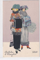 Neujahrsglückwunschkarte - Signiert Mela Koehler - Top     (A-317-201212) - Koehler, Mela