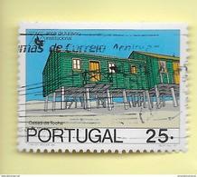 TIMBRES - STAMPS - PORTUGAL - 1987 - 75 ANS De TOURISME - MAISONS DE TOCHA - TIMBRE OBLITÉRÉ - Used Stamps
