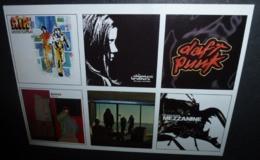 Carte Postale - Air Moon Safari - The Chemical Brothers - Daft Punk - Gomez - Skunk - Massive Attack - Advertising