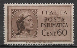 Italy 1945. Scott #D17 (MH) Dante Alighieri - Ongebruikt