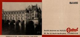 Buvard Castrol Châteaux De La Loire : Château De Chenonceaux Façade Nord-Est - Gas, Garage, Oil