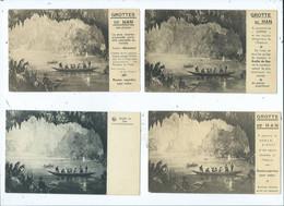 Han-sur-Lesse  Grottes  (  11 éditions Différentes D'une Même Vue  ) - Rochefort