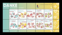 Liechtenstein (dieMarke) 2021 #179 COVID-19 Coronavirus. Everyday Heroes MNH ** - Nuevos