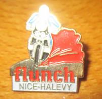 A048 -- Pin's Flunch Nice Halevy -- Dernier Vendu 02/2016 - Marcas Registradas