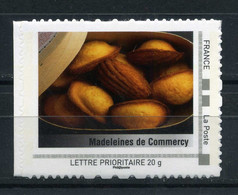 "Madeleines De Commercy Adhésif Neuf ** . Collector "" La Lorraine ""  2009 - Collectors"