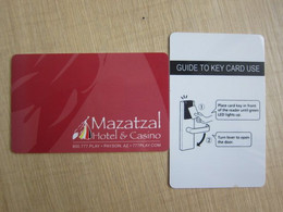 Mazatzal Hotel & Casino,Payson USA - Hotel Keycards