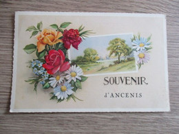 44 FANTAISIE SOUVENIR D'ANCENIS FLEURS - Ancenis