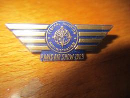 A047 -- Pin's Paris Air Show 1989 - Aerei