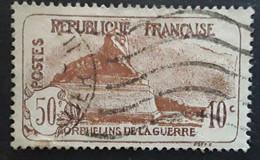France Caisse D'amortissement 1926, Orphelins De La Guerre Yvert 230, Lion De Belfort 50 C + 10 C Obl  TB - Sinking Fund