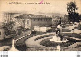 D31  SAINT-GAUDENS  Le Monuement Aux Morts ...... ( Ref FF1113 ) - Saint Gaudens
