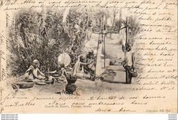 ALGERIE  SCENES ET TYPES  Gourbi De Kamès, Femmes Tissant  ..... ( Ref FF1879 ) - Szenen