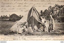ALGERIE  SCENES ET TYPES  Campement De Nomades  ..... ( Ref FF1867 ) - Szenen
