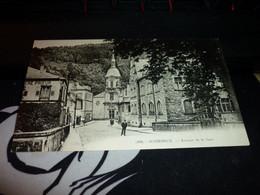 Carte Postale Alsace Bas Rhin Schirmeck Avenue De La Gare Animée - Schirmeck