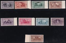 Eritrea Virgilio 1930 Serie Completa Sass.179/187 MNH** Cv 75 - Eritrea